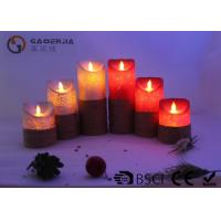 Buy cheap Remote Control Flickering Led Candles , Led Flameless Candles With Timer from wholesalers