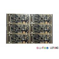 Buy cheap Black Solder Printed Circuit FR4 PCB Board 1 OZ Copper Security Monitor product