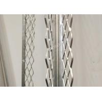 Buy cheap Galvanized Angle Stainless Steel Plaster Beads 0.3*2700mm ISO Certificated For Dry Wall from wholesalers