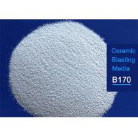 Buy cheap 25kgs 55lbs Bucket Packaged Ceramic Blasting Media Fracture Resistance from wholesalers