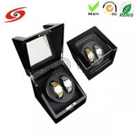 Buy cheap Factory made high quality glossy finish custom Ultra-quiet Motor Wood Automatic watch winder from wholesalers