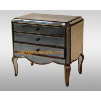 Buy cheap Direct factory price antique glass venetian mirrored bedside cabinet  furniture from wholesalers