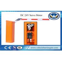 Buy cheap CE Approved Car Park Barriers Toll Gate Automatic With Solar Power Supply from wholesalers