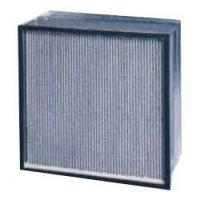 Buy cheap Light weight Stainless steel board high temperature resistant HEPA filter, indoor air filters from wholesalers