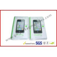 Buy cheap Fashion Clear Fold Plastic Clamshell Packaging Boxes For Iphone 5s Case from wholesalers