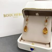 Buy cheap 18K Yellow Gold Boucheron Serpent Boheme Earrings With Topaz Crystals And Diamonds product