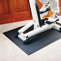 Buy cheap Hot Printed Treadmill Anti Vibration Floor Protector Mat Fitness Equipment from wholesalers