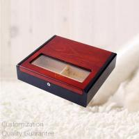 Buy cheap Rosewood and Black Eyeglasses Storage Display Gift Chest Box with Lock  , Personalized Logo Brand. product