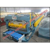 Buy cheap Corrugated Aluminium Step Roof Tile Roll Forming Machine with SONCAP Certificate from wholesalers