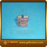 Buy cheap rhinestone zinc alloy cufflinks from wholesalers