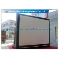 Buy cheap Enjoy Outdoor Large Inflatable Movie Screen Film Screen For Party / Wedding product