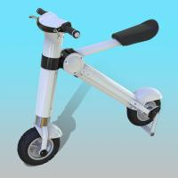 Buy cheap 12 Inch Disc Brake Foldable Electric Scooter / Bicycle For Adults 35KM/H from wholesalers