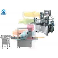 Buy cheap Automatic / Semi Automatic Nail Polish Filling Machine 304 Material from wholesalers