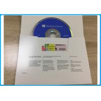 Buy cheap Microsoft Windows Softwares Server 2016 Standard 64bit DVD with 5 User CALs and 16 cores OEM Pack from wholesalers