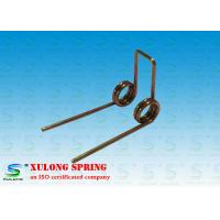 Buy cheap Professional Zinc Plated Small Torsion Springs , Torsional Springs 0.8MM Wire from wholesalers