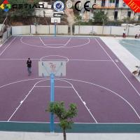 Buy cheap Custom Comfortable Basketball Court Flooring , Plastic Sport Flooring from wholesalers