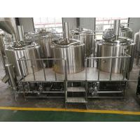 Buy cheap 1000L Brewhouse Micro Beer Brewing Equipment Stainless Steel 304 / 316 Material from wholesalers