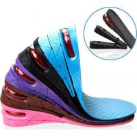 Buy cheap Height Adjustable Insole Heel Lift Shoe Insert For Men Woman from wholesalers