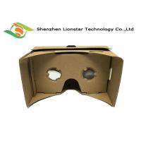 DIY Virtual Reality 3D Glasses Cardboard VR Goggles 25 Mm / 34 Mm Lens