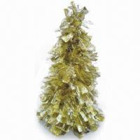 Buy cheap Tara Cutting Tinsel Cone Christmas Tree, Measuring 36 Inches; Flame-retardant from wholesalers
