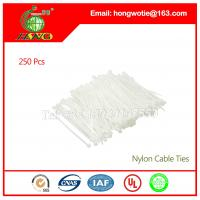 Buy cheap 6.4x370mm Self Locking Nylon Wire Newwork Cable Labels Ties 100 Pcs per bag from wholesalers