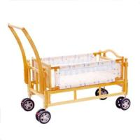 Buy cheap Folding Wooden Baby Cot swing New Born Baby Cribs with Wheels from wholesalers