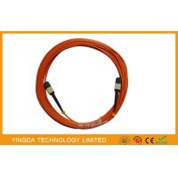 Buy cheap fiber optic cabling / Mtp Mpo Cable Optical Patch Cord With Test Report from wholesalers