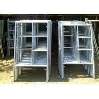 Buy cheap Portable Frame Scaffolding System , Light Weight Aluminium Mobile Scaffold from wholesalers