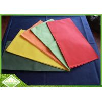 Buy cheap Polypropylene TNT Non Woven Tablecloth 1m*1m Customized Printing Breathable product