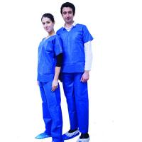 Buy cheap SMMS Anti - Static Disposable Medical Protective Clothing Anti - Pull For Surgeries from wholesalers
