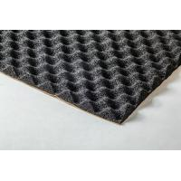 Buy cheap Egg Crate Foam Heat Insulation Material Black No Unpleasant Smell from wholesalers
