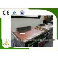 Buy cheap Electromagnetic Mobile Teppanyaki Grill Table Stainless Steel Smoke Down Exhaust from wholesalers
