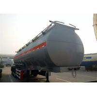 Buy cheap SINOTRUK 3 Axles Fuel Semi Trailer Truck Tri - Axle Tank Capacity 40 - 60 CBM from wholesalers