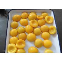 Buy cheap Fresh Canned Fruit In Syrup , Tinned Yellow Peaches Halves / Dices / Slices from wholesalers