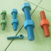 Buy cheap Stud Nuts and Bolts with A193 B7/A194 Material, Available in Different Sizes from wholesalers
