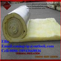 Buy cheap Glass wool/fibre glass wool for warehouse roof thermal insulation from wholesalers