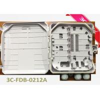 Buy cheap Outdoor 12 Cores Fiber Terminal Box For Wall Mounting Or Pole Mounting from wholesalers