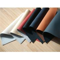 Buy cheap Recycle Cow Car Seat Leather Upholstery With 5% Cotton And 5% Polyester from wholesalers