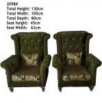Buy cheap 2098#; modern fabric sofa set, tiger chair,office furniture, hotel furniture, Dubai sofa, Arab sofa,Middle East chair from wholesalers