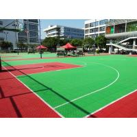Buy cheap Portable Outdoor Basketball Court Flooring Easy Installation High Performance from wholesalers