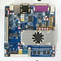 Buy cheap Onboard Atom D525 45nm CPU Mini Itx Motherboard with 6*COM for Nc Terminal from wholesalers