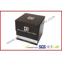 China Magnetic Cosmetic Packaging Boxes / Elegant Rigid Luxury Gift Box on sale