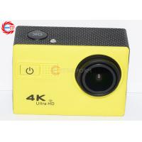 Buy cheap 50hz  4k Sports Camera , Diving 30m Waterproof Video Camcorder 1050mah from wholesalers