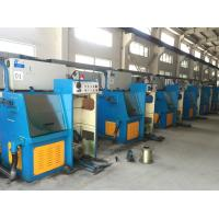 Cast Iron Fine Copper Wire Drawing Machine Spray Lubrication Flat Belts Transmission