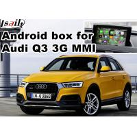 Buy cheap Android multimedia video interface for Audi Q3 , gps navigation devices from wholesalers