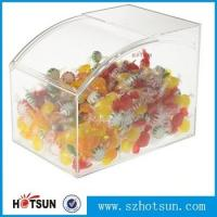 Buy cheap Unique crystal clear plexiglass souvenir gift box /acrylic wedding favor candy cube box from wholesalers