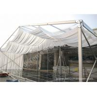 Buy cheap Outdoor Wine Parties / Wedding Decoration Tent 15m With Wood Floor from wholesalers