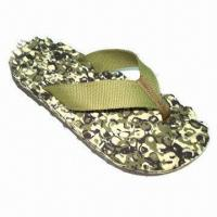 Buy cheap Men's Slipper, Made of Woven Strap Upper Material with TPR Outsole from wholesalers