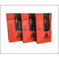 Buy cheap Block bottom bag, stand up pouch with flat bottom for food packaging from wholesalers