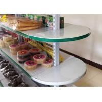 Buy cheap Convenience Store Wire Gondola Shelving 30KG Load Weight Four Layer from wholesalers